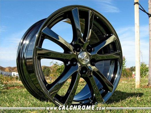 Should I Paint My Rims Black Blackchrome 044lexus Jpg