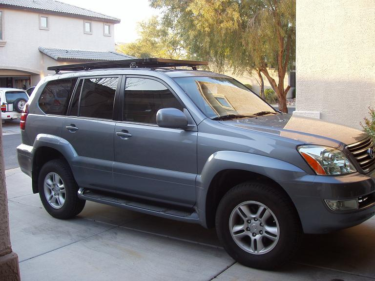 african outback roof rack on gx