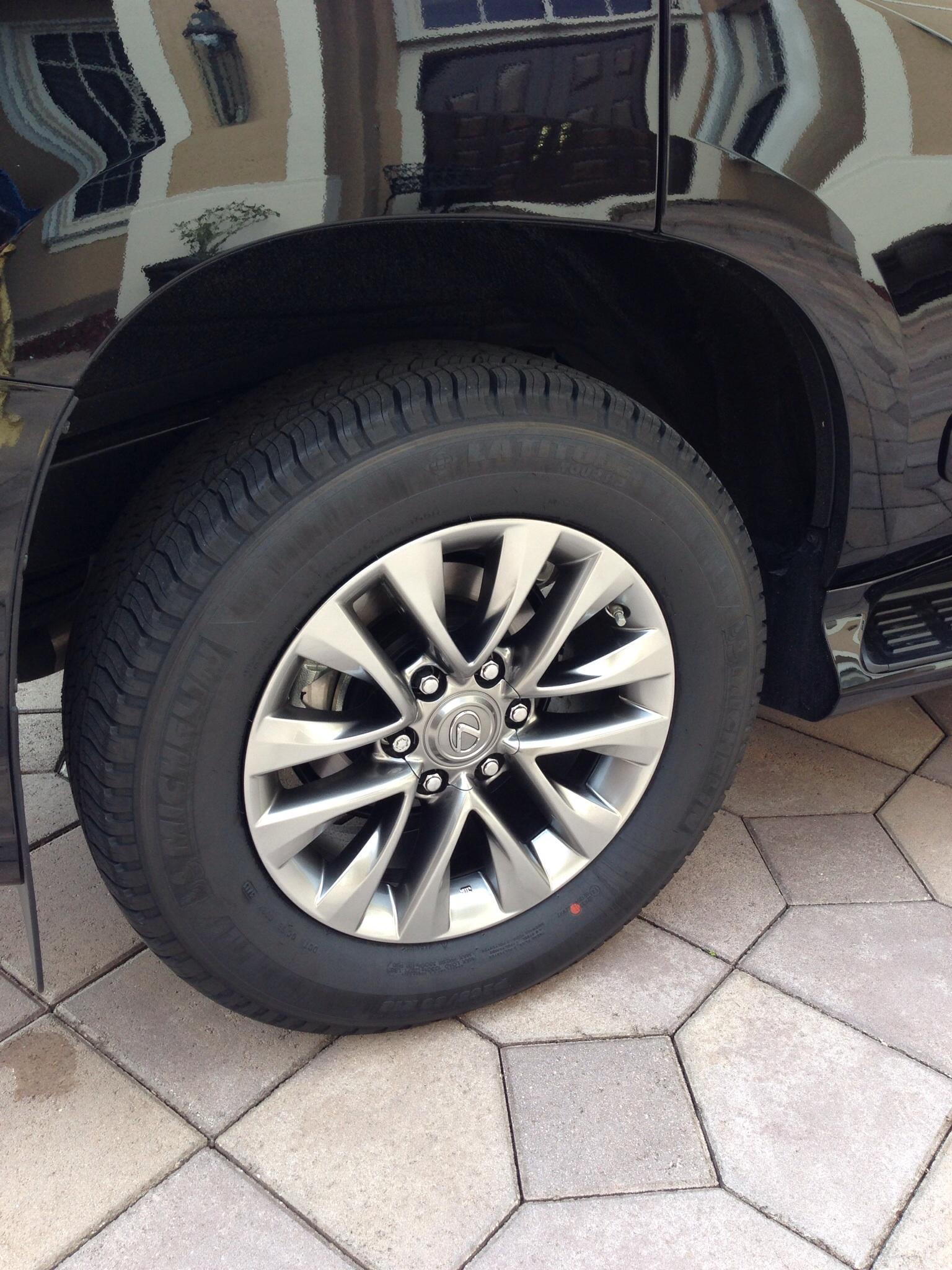 Tires on 2014 GX460 Luxury ClubLexus Lexus Forum Discussion