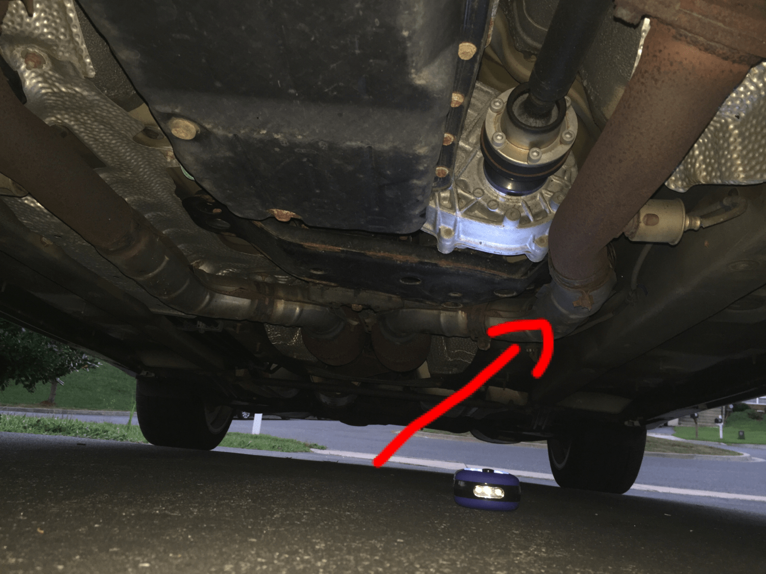 exhaust leak on 2008 is250 awd