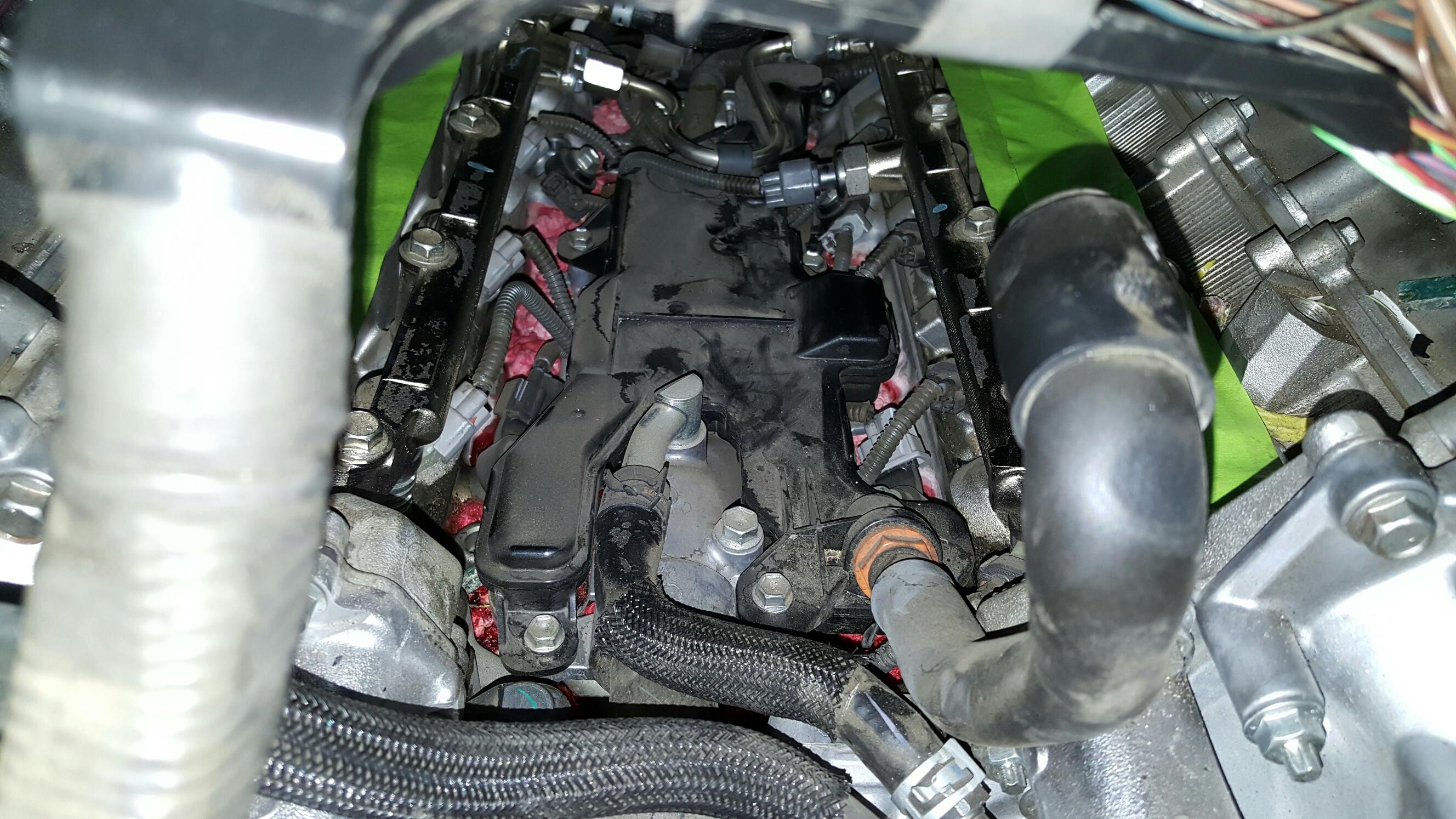 Leaking Engine Coolant
