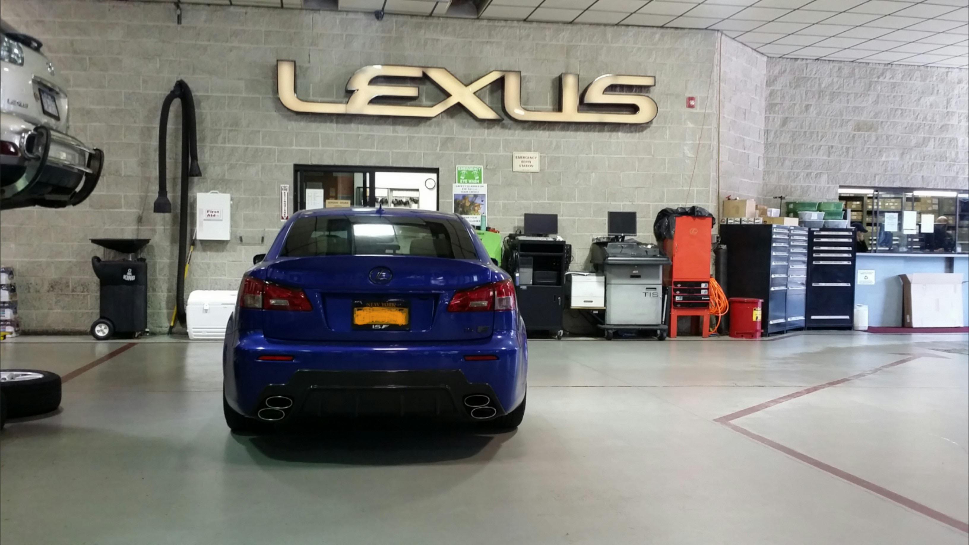 Dealership declining to install aftermarket parts ClubLexus