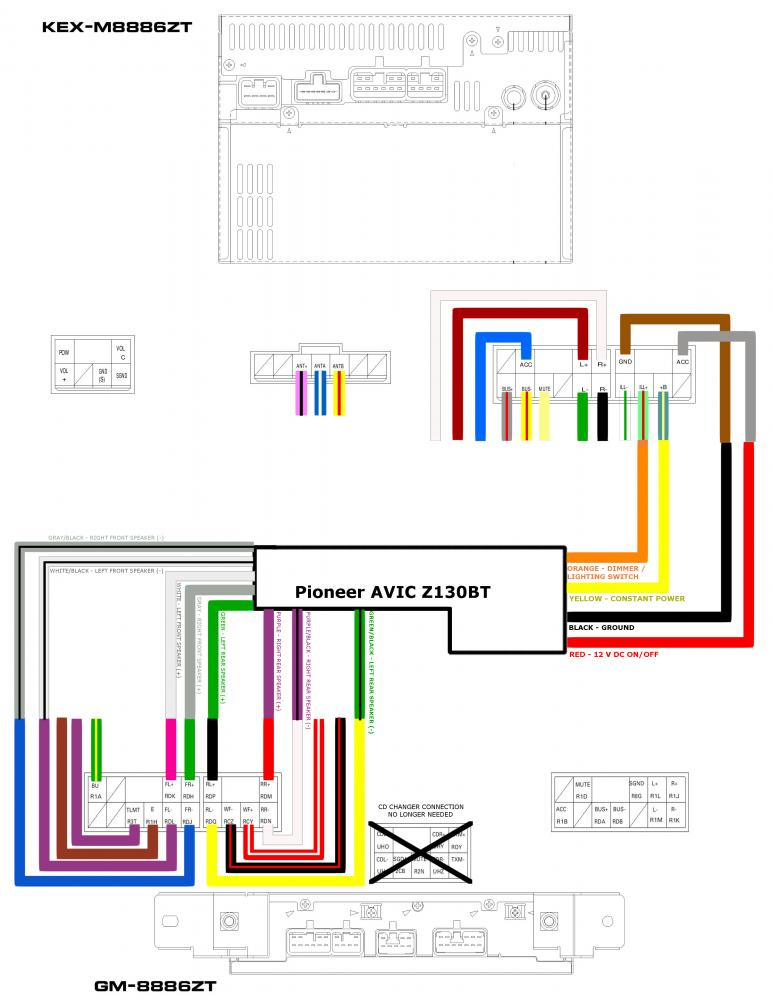 pioneer fh p8000bt wiring diagram color code pioneer deh 1200mp wiring diagram wiring diagrams