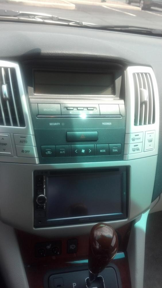 Double Din Install In 04 Rx330 Club Lexus Forums
