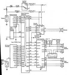 great newsi found the wiring diagram for the entire stereo system  Page 5  ClubLexus