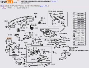 Remove and replace instrument panel, 19982000 LS  ClubLexus  Lexus Forum Discussion