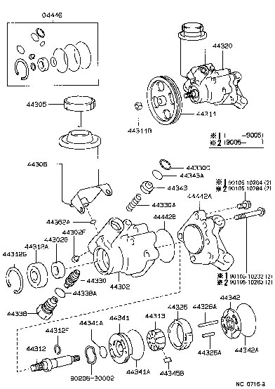 Diagram 1998 Toyota T100 Power Steering Diagram File Dj59813