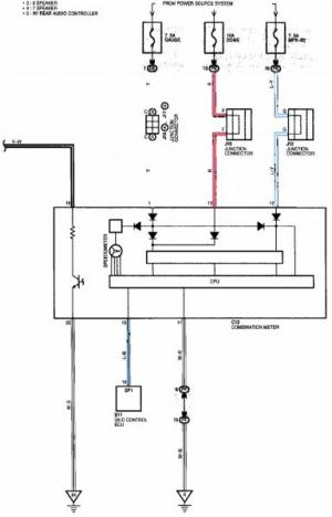 Need Wiring Diagram from Radio Harness  ClubLexus  Lexus