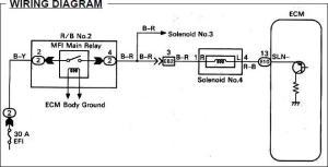 Looking for No 4 Solenoid Wiring Diagram  ClubLexus