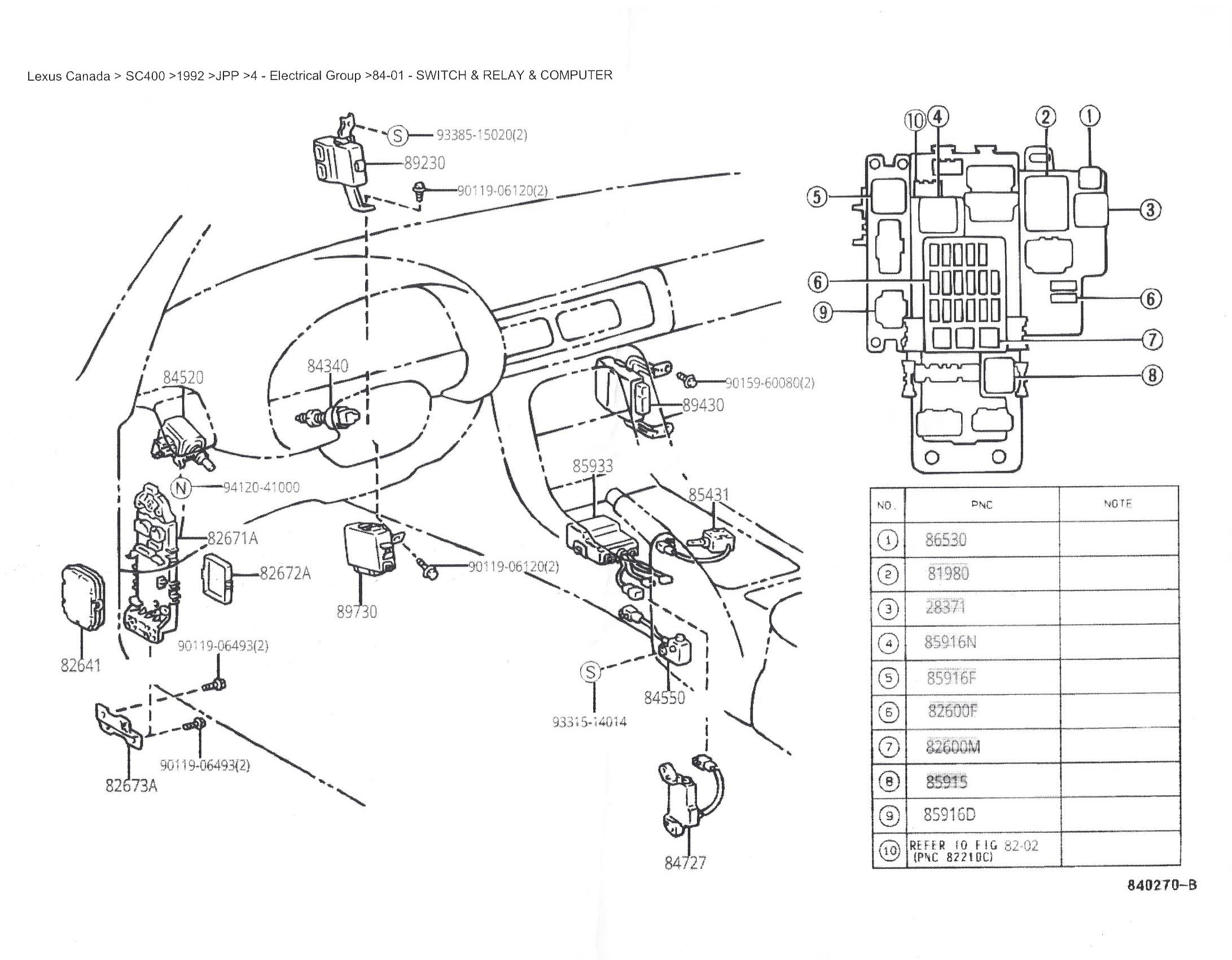 wiring diagram for lexus ls400
