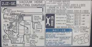 2JZGE Underhood Vacuum Diagram  ClubLexus  Lexus Forum