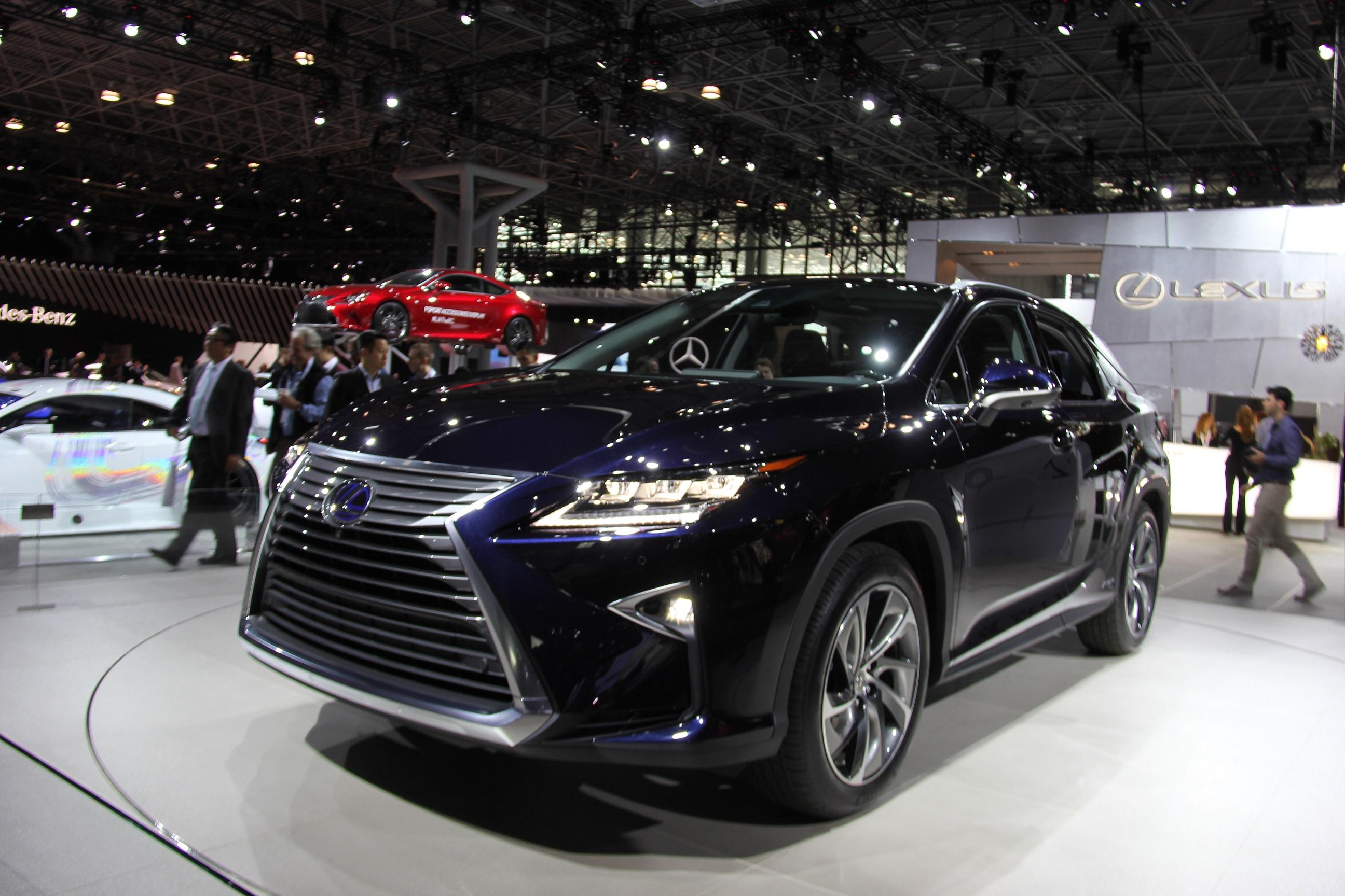 Mega Gallery 2016 Lexus RX Revealed at New York International