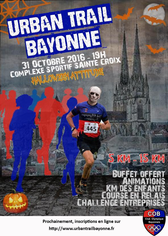 Urban trail bayonne halloween