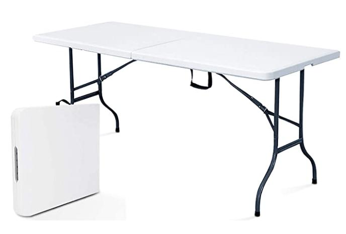 deal table pliante avec poignee de
