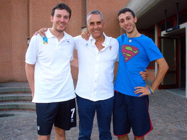 Perri e Bruno ai corsi di Formia 2010