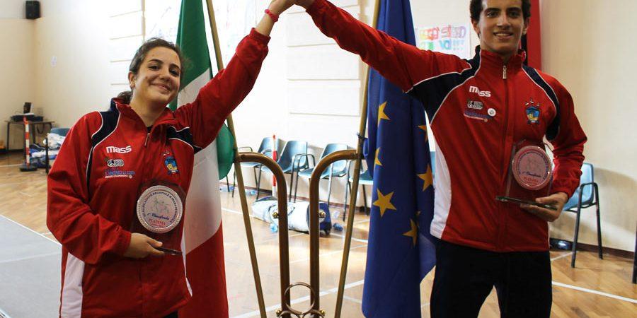 Francesco Perri e Maria Grazia Tedeschi vittoriosi a Platania