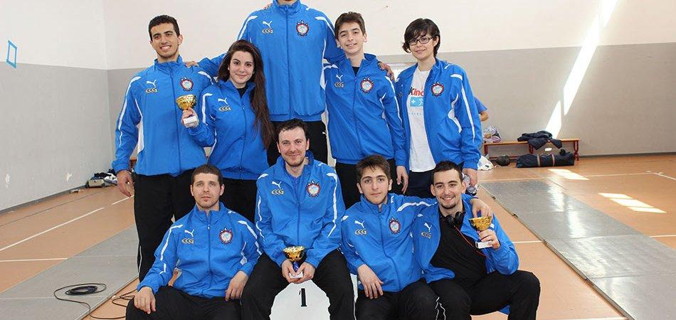 Foto gruppo Coppa Calabria 2014