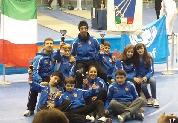 Club Scherma Cosenza, gara Ariano Irpino gennaio 2015