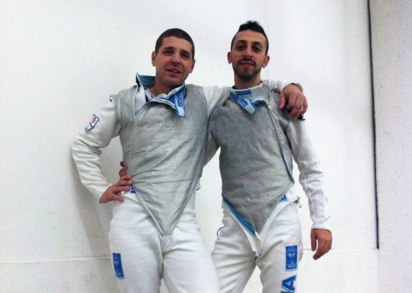Perri e Bruno nella prova Master a Zevio