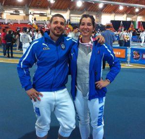 Tessari e Perri nella gara di Ancona