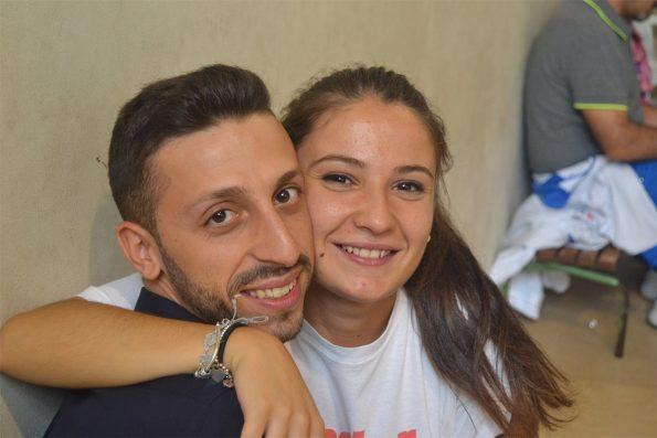 Paolo Bruno e Francesca Pisilli