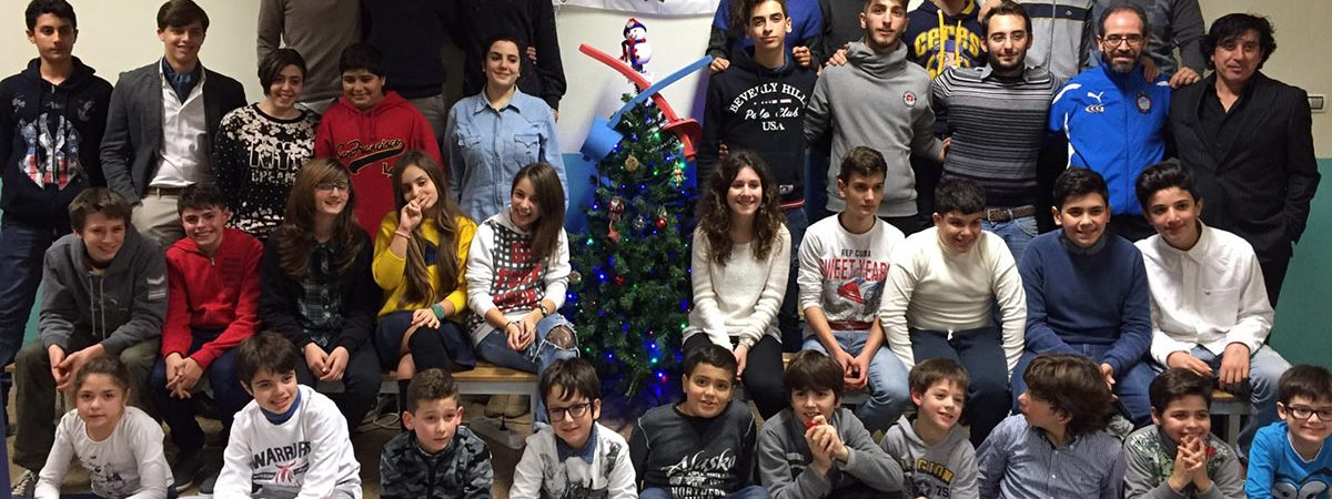 Festa Natale 2015 Club Scherma Cosenza