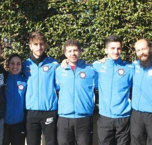 Atleti Club Scherma Cosenza a Caserta