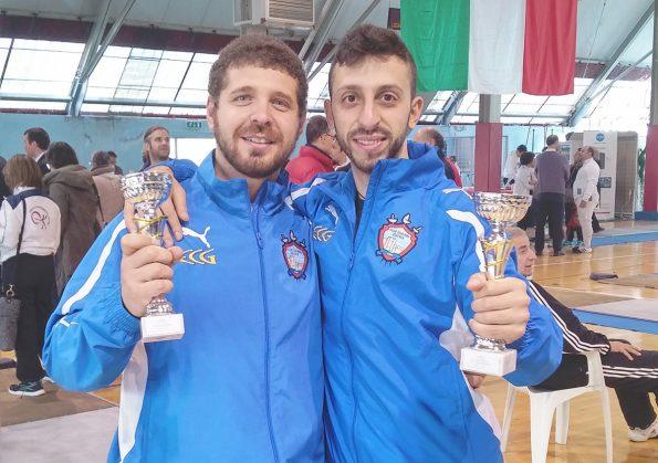 Marco Perri e Paolo Bruno, terzi a Nocera