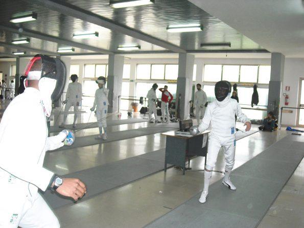 Francesco La Regina, gara Master Foggia