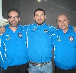 Monteforte, La Regina con l'istruttore Perri a Foggia