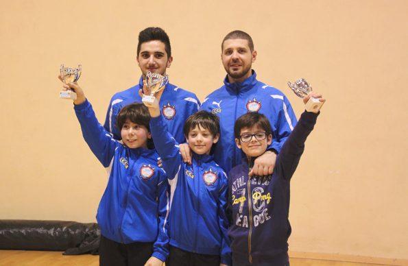 Le Prime Lame del Club Scherma Cosenza