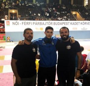 Circuito Europeo Cadetti, Budapest 2019: Perri, Valente e Angotti