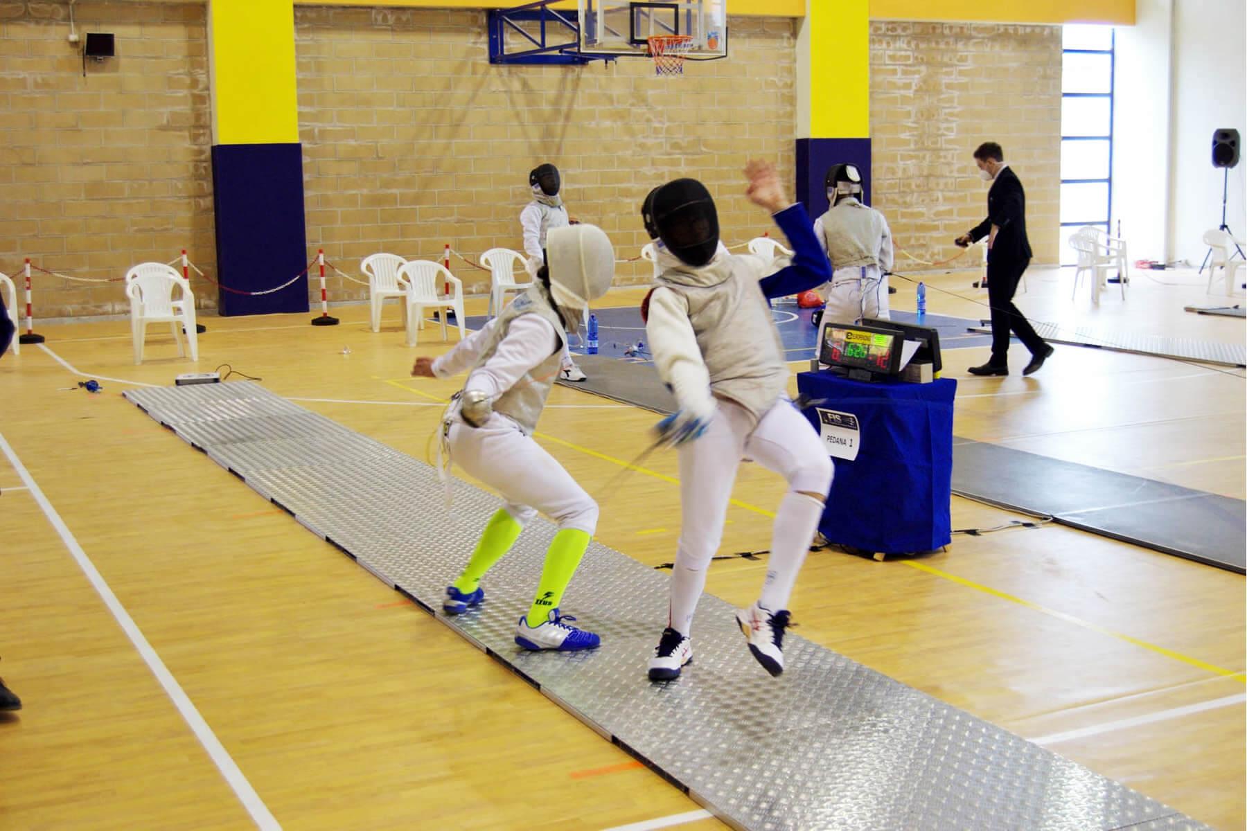 Prova di qualificazione Cadetti e Giovani: un acrobatico Martire in azione