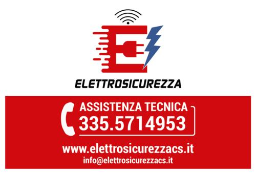 Elettrosicurezza - sponsor del Club Scherma Cosenza