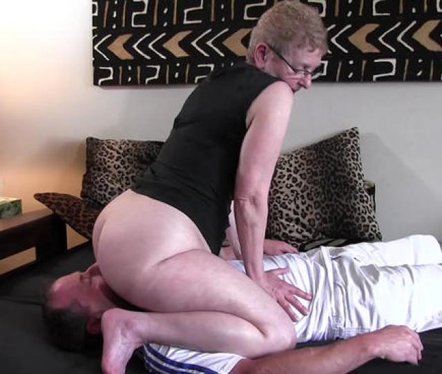 Nasty Granny Is Also Known As Big Booty Betty And When You See Her Gorgeous Voluptuous Ass You Will Understand Why She Is Passionate About Sitting On