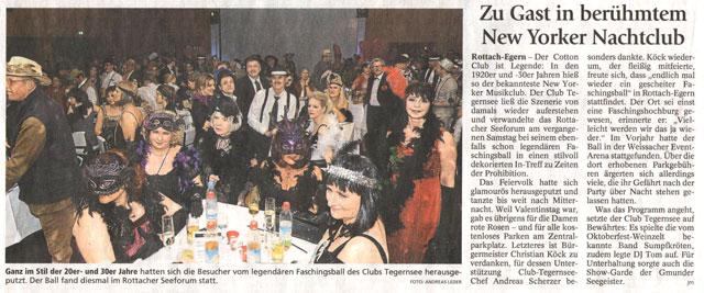 Tegernseer Zeitung, 16.02.2015
