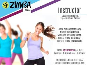 club terraza - zumba fitness