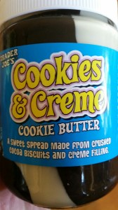 Cookies and creme cookie butter