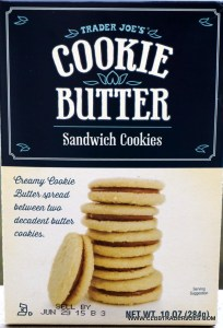 Cookie Butter Sandwich Cookies