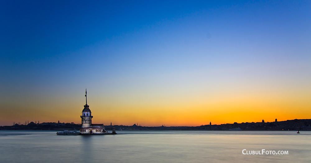 Apusul pe Bosfor, la Istanbul