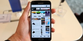 Samsung Galaxy S5 hands on