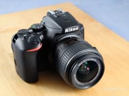 Nikon D5500 kit in test