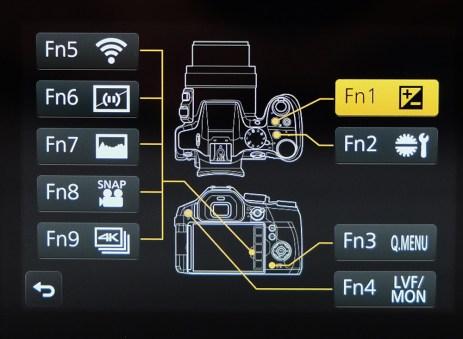 Selectarea functiilor butoanelor customizabile