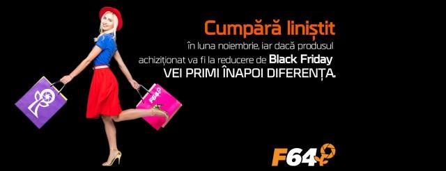 Black Friday 2017 la F64