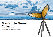 Trepiedele Manfrotto Element