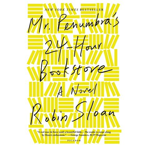 Mr. Penumbra's 24-Hour Bookstore Book Cover