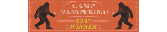 Camp NaNoWriMo winner logo