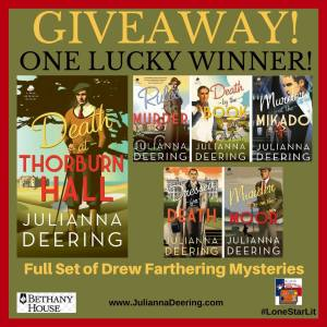 Death at Thorburn Hall Giveaway Graphic
