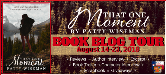 That One Moment book blog tour promotion banner
