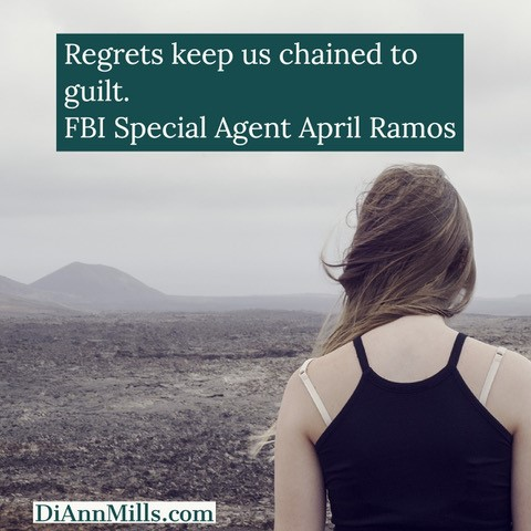 "Pull quote: ""Before they'd let me out of rehab someone had to agree to act as my legal custodian. There it is, the snappy truth about why, at the age of thirty-two, I live with my mother."" FBI Special Agent April Ramos"